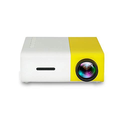 Mini Projektor, Heimkino Videoprojektor,Mini Beamer Tragbarer,600 Lumen unterstützt Full HD 1080P Multimedia für…