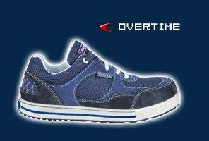 Cofra 35090-000.W44 S1 P SRC taglia 44 Overtime Safety-Scarpe da ginnastica colore blu