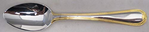 Lenox Vintage Jewel Gold (Stainless,gold Accent) Place/Oval Soup Spoon