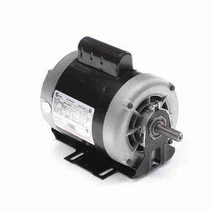 - 1/3 hp 1725 RPM 56 Frame 115/208-230V Belt Drive Cap Start Blower Motor Century # C455