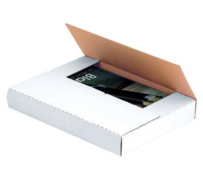 "Box Partners Multi Depth White Bookfold 12 1/8"" x 9 1/8"" x1/2"", 1"", 1 1/2"", 2"" (M2BK)"