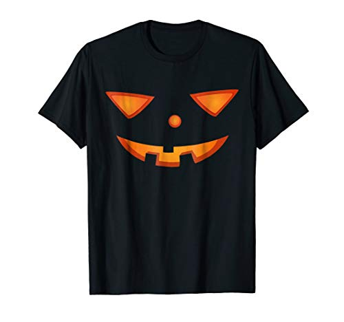 Halloween Scary Face Costume Funny T-shirt ()
