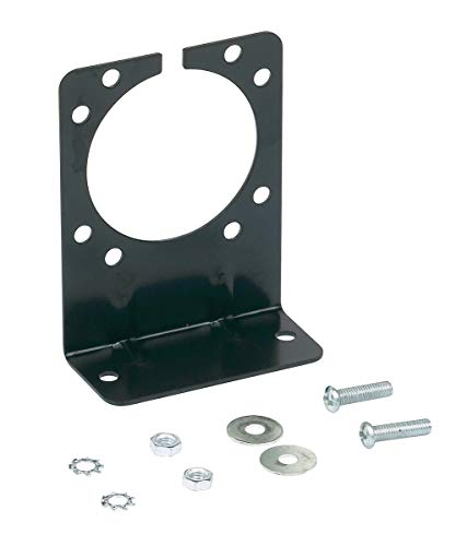 Hopkins 48615 7 RV Blade and 6 Pole Round Mounting Bracket (Trailer Rv 7 Blade Pole)