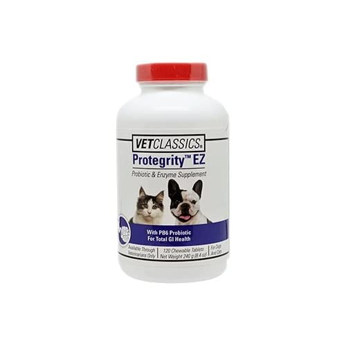 60%OFF Vet Classics Protegrity EZ Canine, 120 Chewable Tablets
