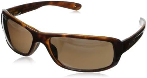 Revo Converge RE 4064 00 BR Polarized Rectangular Sunglasses