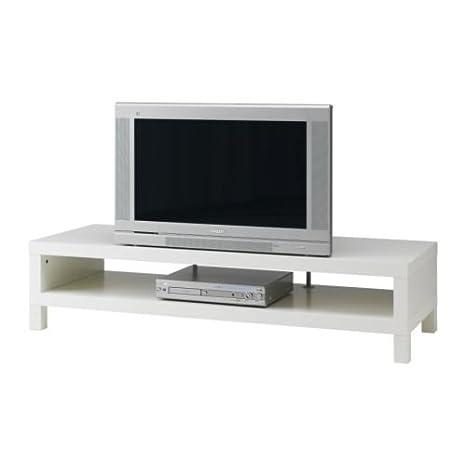 Mobile tv ikea lack misure  Ikea Lack - Mobile porta-TV, dimensioni: 149 x 55 cm, colore bianco ...