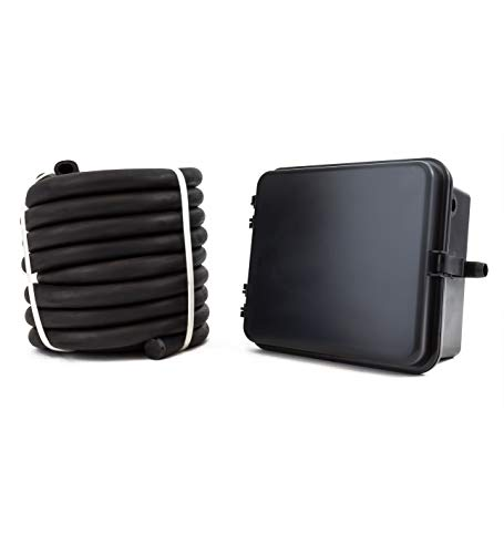 - Dakota Alert DCHT-4000 Wireless Driveway Alarm Transmitter with 25-FT Rubber Hose Vehicle Sensor - Outdoor Monitoring System