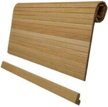 Amazon Com Red Oak Long Tambour Roll Door For Cabinet 40 X 20
