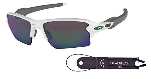 4af0075853 Oakley Flak 2.0 XL OO9188 918892 59M Polished White/Prizm Jade Sunglasses  For Men+