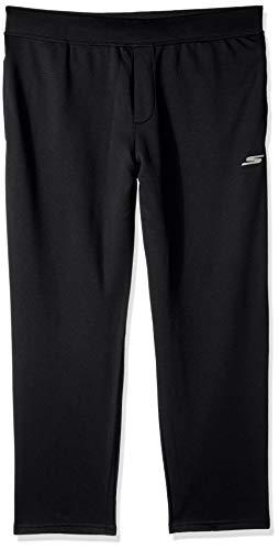 Skechers Men's Go Walk Descend Pant, Bold Black, XXL