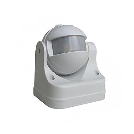 Jandei - Interruptor detector de movimiento automatico temporizado con sensor de luz: Amazon.es: Iluminación