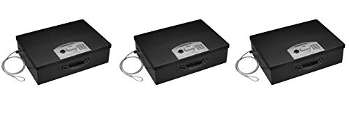 SentrySafe PL048E Electronic Security Box, 0.5 Cubic Feet, Black (Pack of 3) by SentrySafe (Image #2)