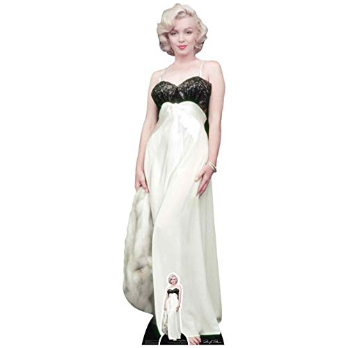 Marilyn Monroe White Gown Life Size Cardboard Cutout Standup SC1058