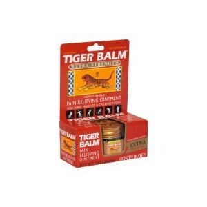 Baume du Tigre Tiger Balm Rouge analgésique X-tra Force - 0,63 Fl. Oz, 6 Pack