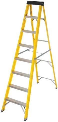 8 Tread Fibreglass 2.23m Step Ladder