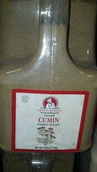 Chef's Quality: Ground Cumin 4/5 Lb. Case by Chef's Quality