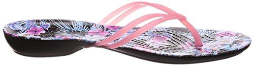 Pink Crocs Women Floral Graphic Isabella Paradise Flip Tropical wqXZ7Xtx