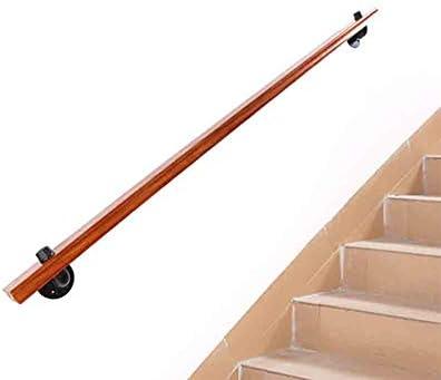 Barandilla de seguridad montada en la pared Barandillas de madera antideslizantes de la escalera Barandilla la baranda del anciano Poste soporte del corredor Hogar de pared a pared Loft interior,30cm: Amazon.es: Hogar