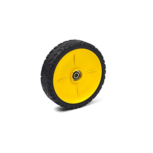 - Briggs and Stratton 7500544YP Wheel Assembly, John Deere Yellow (8x2)