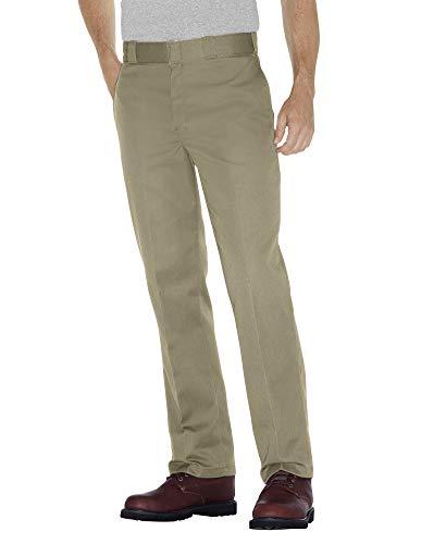 Dickies Men's Original 874 Work Pant, Khaki, 42W x 32L