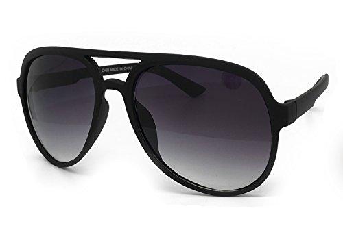 Aviator Vintage Womens Sunglasses Retro Eyewear Lens Black - 6