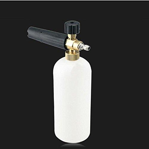 Duoying 1L Espuma Lanza Lavadora Coche Limpiar Lavar Pistola Jabón Presión Lavadora Botella Pulverizador