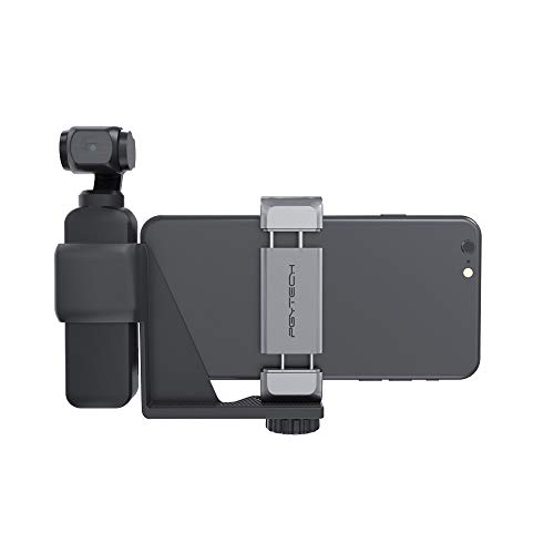 Handheld Phone Holder Set Gimbal Stand for DJI Osmo Pocket Aluminum Mobile Bracket Set with Cold Shoe Interface and 1/4 Screw Hole, DJI Osmo Pocket Accessories