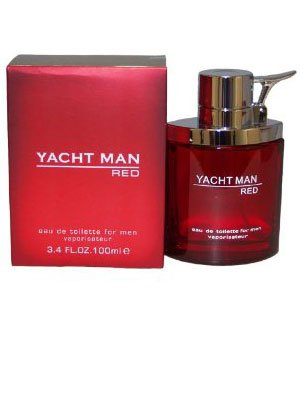Yacht Man Red Cologne For Men by Myrurgia