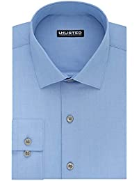 Kenneth Cole Unlisted Men's Dress Shirt Slim Fit Solid