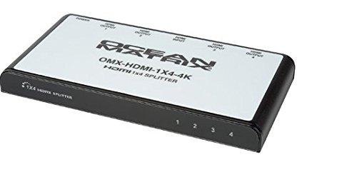 Ocean Matrix OMX-HDMI-1X4DA 1x4 Splitter 4K HDMI Distribution Amplifier by Ocean Matrix