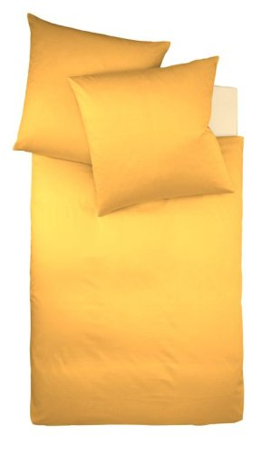Fleuresse Interlock Jersey Bettwäsche Colours Sonne 155 X 220 Cm