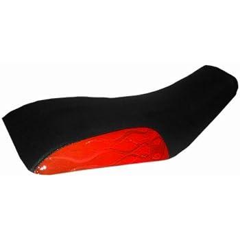 Yamaha Raptor 80 Red Flame ATV Seat Cover