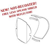 Reflector With Free Lens Splash Shield for Pelton & Crane PCR709