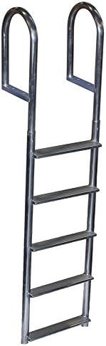 Dock Edge Welded Fixed Wide Step Dock Ladder