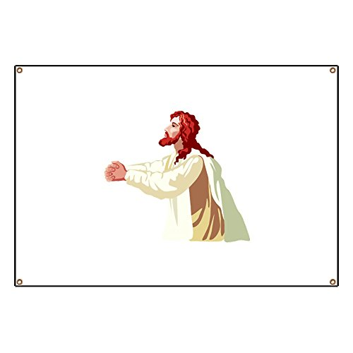 CafePress Christianity - Vinyl Banner, 44''x30'' Hanging Sign, Indoor/Outdoor by CafePress