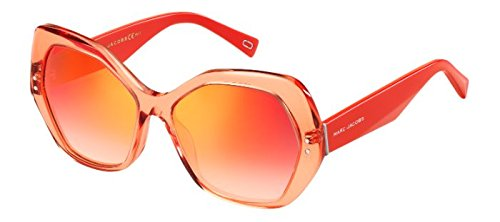 Marc Jacobs MARC 117/S 26X2T (Transparent Rosa - Red with Brown Gradient with Mirror effect - Jacobs Sunglasses Marc Red