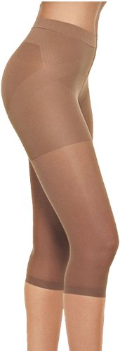 Capri Body Shaper (Lupo Women's Capri Pantyhose Shaper Slimmer Corsario Natural Small)