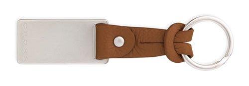 Cross Toffee Leather Slip Tie Key Fob ()