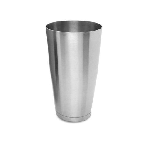 Co-Rect Products CS300B Cocktail Shaker with Base, Stainless Steel, 18 Oz, 5