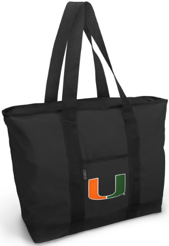 University of Miami Tote Bag Best Miami Canes Totes SHOPPING TRAVEL or - Best Miami Shopping Beach