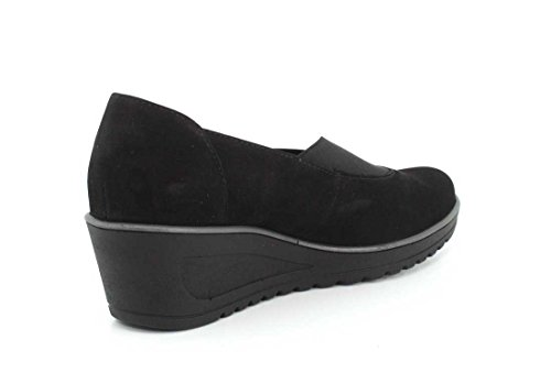 Ara Womens haddie 46120 Black Nubuck Wedge - 6.5 G pXAsAgj
