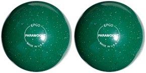EPCO-Duckpin-Bowling-Ball-Speckled-Houseball-Green-Balls-2-Balls