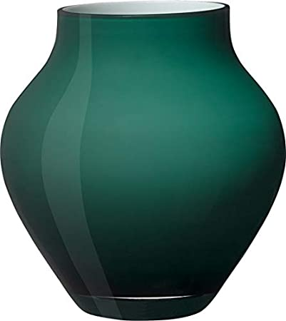 Vetro Verde 17 cm Villeroy /& Boch Oronda Vaso Emerald Green