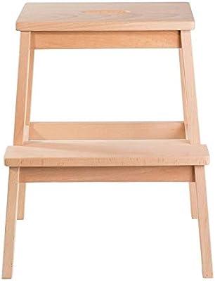 Nevy- Taburete Escalera de 2 peldaños para Adultos y niños, para Interiores, Banco de Zapatos portátil/Escalera de Flores, taburetes pequeños: Amazon.es: Hogar
