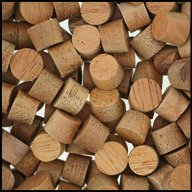 WIDGETCO 5/16'' Mahogany Wood Plugs, Face Grain by WIDGETCO