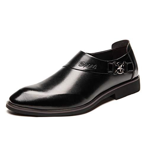 バンク該当するマオリ男性の身長増加(6cm)エレベーター靴ビジネススキンシューズレイジーシューズ紳士指差しシューズ英国結婚式靴カジュアルシューズタイド