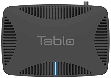 Tablo Quad Over-The-Air [OTA] Digital Video Recorder [DVR] for Cord Cutters – with WiFi, Live TV Streaming, & Automatic Commercial Skip, Black