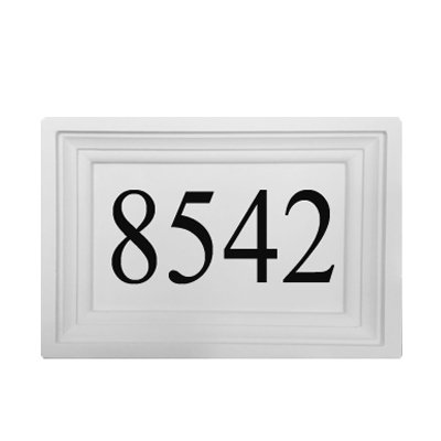 Personalized Address Plaque by ABC Address Blocks. 12