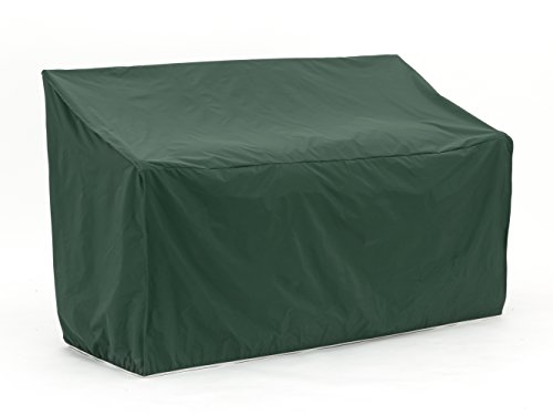 CoverMates – Outdoor Patio Loveseat Cover – 48W x 26D x 34H – Classic Collection – 2 YR Warranty – Year Around Protection - Green Collection Loveseat Glider