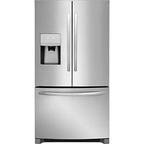 Price comparison product image Frigidaire FFHD2250TS 36 Inch Counter Depth French Door Refrigerator with 22.5 cu. ft. Total Capacity,  in Stainless Steel